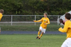 Austin Schafer, 11 practices during summer conditioning for Boys Varsity Soccer.