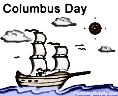 "Columbus Day is a day to celebrate Columbus "" finding America. Over the years, schools and workplaces have not been giving holidays in honor of him. Students opinion varies considerably on this topic."