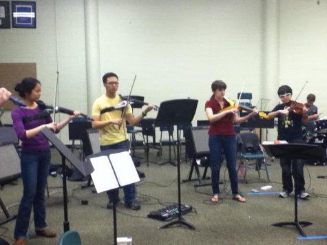 Orchestra welcomes new freshmen in allegro