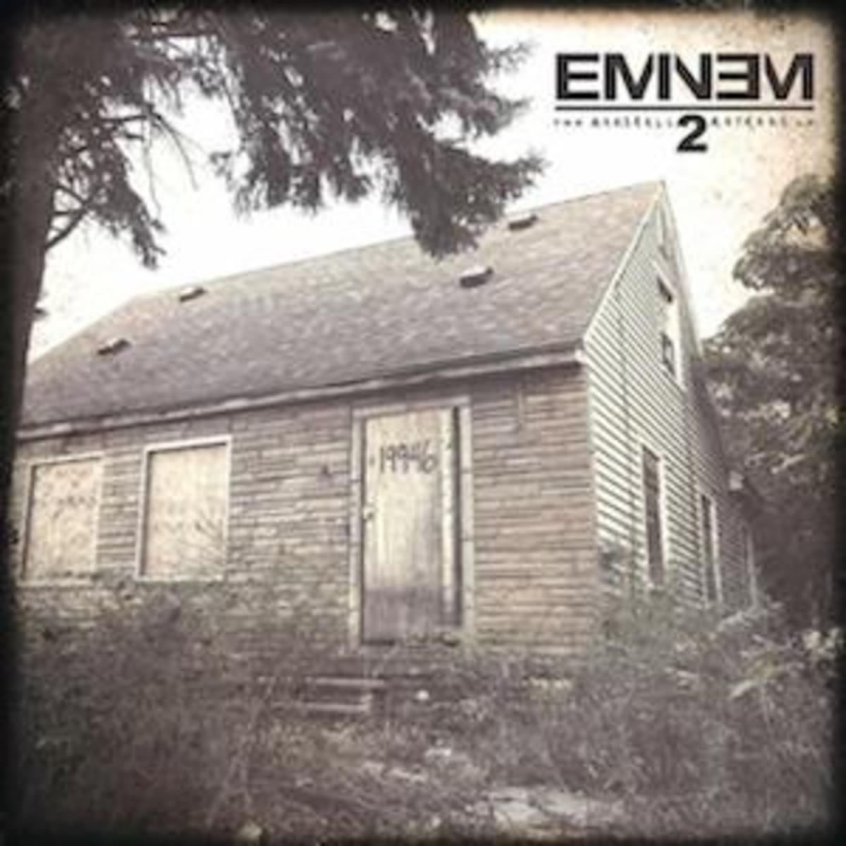 Eminem released his first album in over three years in 'Marshall Mathers LP2' on Wednesday and has already been at number one on iTunes and on Billboards Top 100.