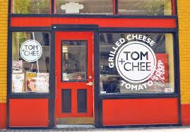Tom and Chee has six delicious locations in the Cincinnati area. If you would like more information on the menu go to the link above. Tom and Chee: home of the glazed grilled cheese donut. Photo by: Ben Ruskin.