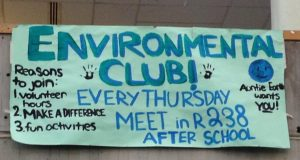 The Environmental Club is a volunteer based club. It meets every Thursday in room 238. The club holds meeting and goes on trips to volunteer various places around the city.