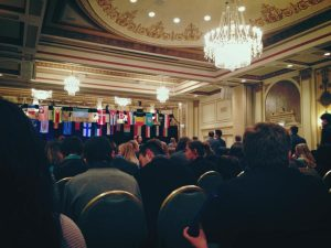 Photo courtesy of Anu Roy-Chaudhury The conference took place in downtown Chicago in various rooms of the Palmer House. This was the 26th annual MUNUC conference and SHS MUN's third year attending. Mrs. Beth LeBlanc, MUN advisor, along with club members have been organizing the trip since last year.