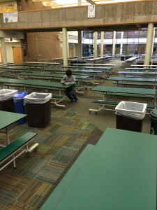 Alone in the commons