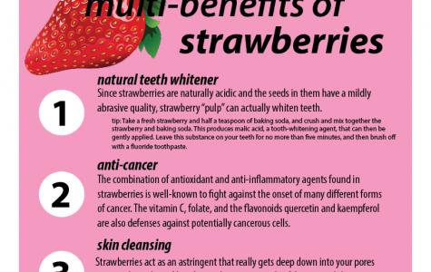 Three benefits of strawberries