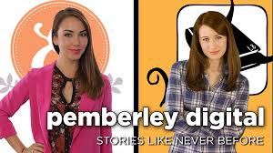 "PEMBERLEY DIGITAL IS a media company who is trying out a new media platform. By utilizing YouTube and social media sites, they develop their characters and storyline. So far, they have completed a modern adaptation of Jane Austen's ""Pride and Prejudice,"" a mini series of Austen's unfinished novel ""Sanditon"" and, finally, ""Emma Approved,"" which is based off of Austen's ""Emma."" Image Courtesy of: Pemberley Digital"