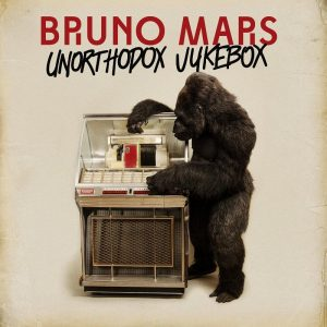 The album cover lives up to its title as it features a gorilla up against a retro jukebox, and seemingly amazed at the newfound machine. The album has brought mixed reactions from fans. It shows Mars' New Wave, Rock, Soul, and R&B influences. Photo Courtesy: MCT Photo