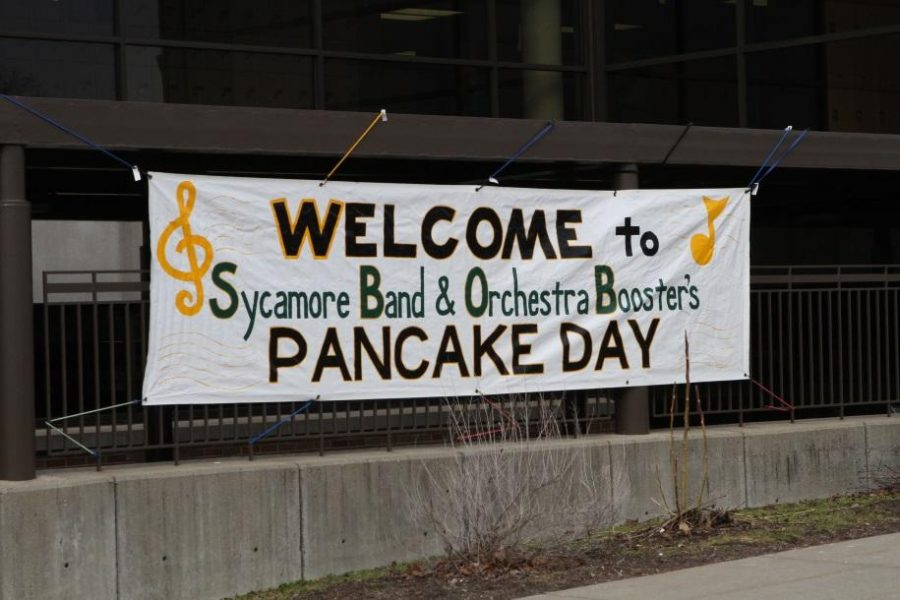 The+annual+Pancake+Day+was+held+at+SHS+on+March+1.++This+day+is+meant+to+showcase+various+bands+and+artists+at+all+grade+levels.