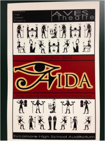 "After months of preparation, students will perform ""Aida"". They have stayed hours after school to prepare for the show. The performance will be held from March 20th to the 22nd in the Aves Theatre. Photo courtesy of Sarah Horne."