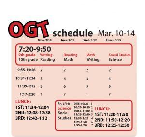 ogt schedule