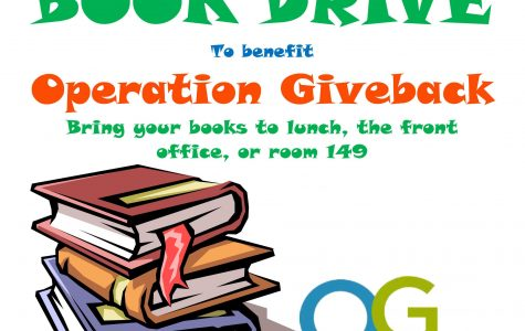 Teaching Professions Academy students create book drive