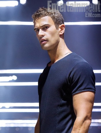 Actor Theo James plays the supporting role in Divergent as Four, the love interest of Beatrice Prior. This movie has brought him to become a breakout star and a heartthrob for many girls. The tough actor will appear in the next two sequels, Insurgent and Allegiant. Photo Courtesy: MCT Photo