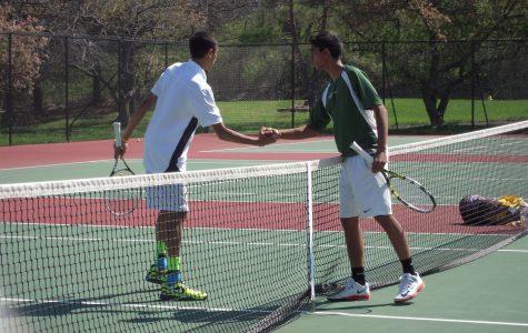 Varsity Gold tennis continues strong season