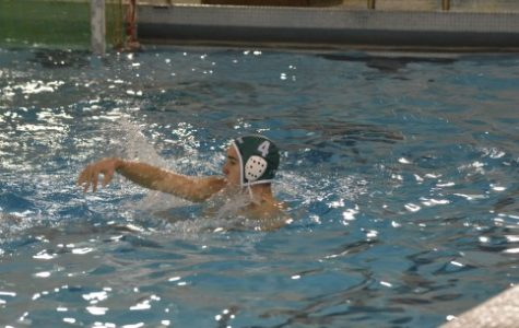 Senior John Heldman is a vital part of the team this year. This is his first year playing water polo but he is already starting varsity. He provides a good threat for the team.