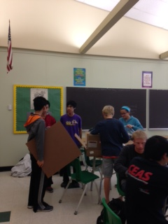 Members assemble boards and practice moves.  GMC matches are on Tuesdays and Thursdays .  Meetings are in room 230. Photo Credit:  Jacob Englander
