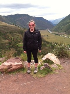 Malof traveled to Peru over the summer. In Peru, she was able to experience what it was like to stay in a Spanish speaking country.  She visited the Inca grounds in Lima Peru.