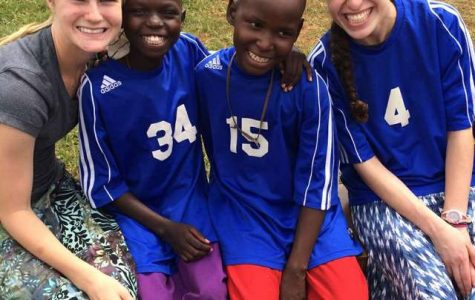 A member of Unified for Uganda, senior Talia Bailes, visited Uganda over the summer. Bailes was selected to attend the Mayerson workshop to represent the club with senior Jennifer Adamec. Garden Club and engineering representatives were also in attendance.