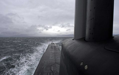 """""""It could be a submarine or a smaller submarine,"""" Swedish Navy Rear Admiral Anders Grenstad said in a press conference. """"It could be some sort of mopad-like underwater vehicle and it could be divers that don't have any business on our territory. That's where I think you have the span of what could be 'foreign underwater activity'."""""""