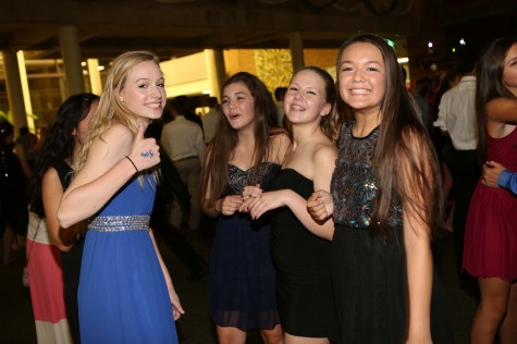 For girls, homecoming is a chance to dress up and look nice. Dresses vary from casual to formal for the dance. It is a great chance to have fun with friends and dance the night away. Photo Courtesy: McDaniel's Photography