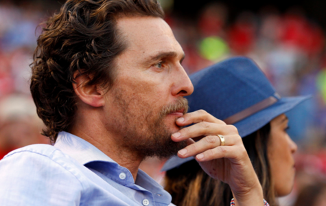 Actor Matthew McConaughey watches a baseball game earlier this year in Texas. McConaughey starred in Interstellar as Cooper. He has also had significant roles in recent hits like Wolf of Wall Street and Dallas Buyer's Club. Photo by MCT  Actor Matthew McConaughey watches a baseball game earlier this year in Texas. McConaughey starred in Interstellar as Cooper. He has also had significant roles in recent hits like Wolf of Wall Street and Dallas Buyer's Club. Photo by MCT