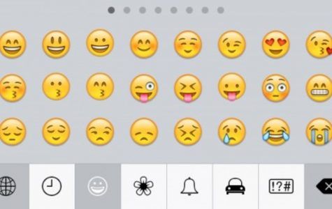 """Emojis are small digital images or icons that express an idea. They were invited in 1999 in Japan. """"Moji"""" means letter or character in Japanese."""