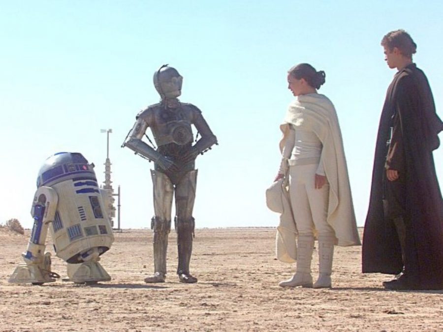 +++A+scene+from+%E2%80%9CStar+Wars+Episode+II%3A+Attack+of+the+Clones%E2%80%9D.+The+planet+in+this+scene%2C+Tatooine%2C+has+already+made+an+appearance+in+the+new+film%E2%80%99s+trailer.+The+amount+of+involvement+for+the+droids+R2-D2+and+C3-P0+is+still+undetermined.