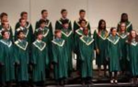 The SHS choir last year. Holdt has been working hard to make sure that the choir maintains its reputation as one of the best in state.