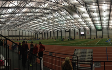 "The SPIRE Institute proclaims itself to have a ""unique capacity to simultaneously host clubs, leagues, tournaments and championship events no matter the weather or the season,"". The 750,000 sq. foot complex features an uncommon 300 meter track. The usual outdoor track is 400 meters and the common indoor track is 200 meters. Photo Courtesy of Meghan DiGiovanna."