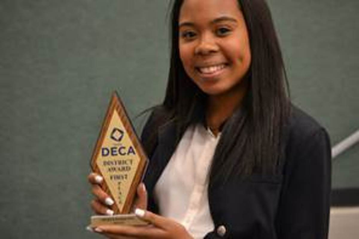 DECA students dazzle at competition