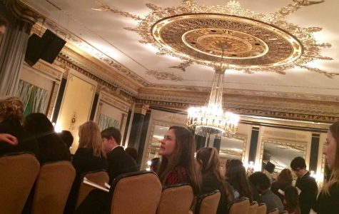 Each year, the MUNUC conference takes place in the Palmer House. Each committee is in a different room within the hotel. During this weekend, SHS MUN stayed in the Hampton Inn which was one block away from the Palmer House.