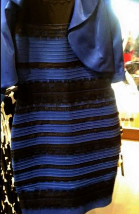 This eye-catching dress is now famous for causing such a debate online. Until now optical illusion like this has  never gotten such a strong reaction from people, even with perfect sight.However, Ophthalmologists (people who study eyes) have now found a logical reason to this phenoniumum. Image by Maddie Schramm