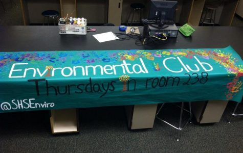 Environmental Club is a great way to give back. Participants  help recycle materials, as well as make SHS a greener place. You can stay up to date on news for Environmental Club on Twitter @shsenviro. Photo Courtesy of Karen Patrick