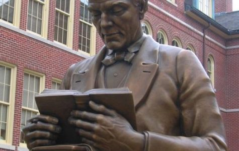 Located at Miami University in Oxford, Ohio, here is a statue of McGuffey reading a book. He is best known for his series of textbooks called the McGuffey Readers. He held several jobs during his life all in the education field.