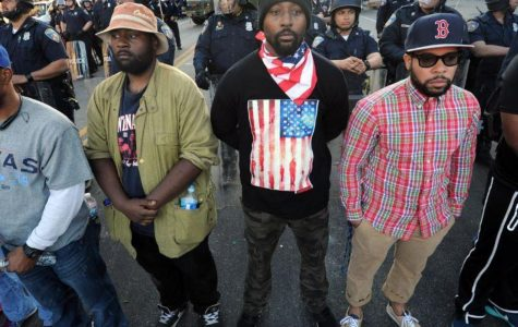 The Baltimore riots have become one of the more violent riots in recent memory, following the riots in Ferguson. However, not all the protestors are violent. Some have tried to practice peaceful protest, in response to the death of Freddie Gray.
