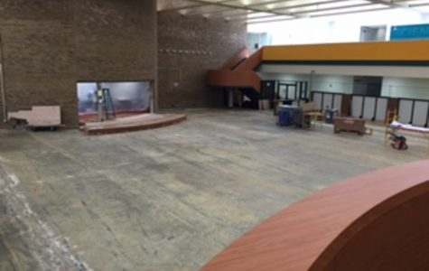 Changes are being made all around the school. Noticeable changes made already are the new tables, the skins on the walls, and overall school spirit. This summer however, even more changes will be made.