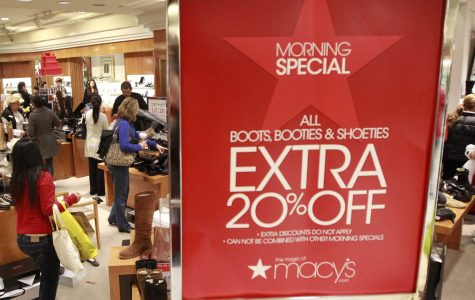 Macy's is in the process of creating several discount price stores. The stores will be called Macy's Backstage and will have clothes and other goods marked 20-80 percent off.  The stores will be similar to Nordstrom Rack, T.J Maxx, and Marshalls. Photo courtesy of MCT.