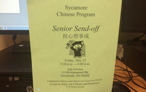 Chinese students celebrate senior's successes