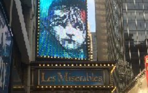 The SHS theatre troop saw Les Miserables Saturday September 24 at the Imperial Theatre in New York. Due to traffic they arrived to the show five minutes before the start time. They watched the shortened revival of the original production.