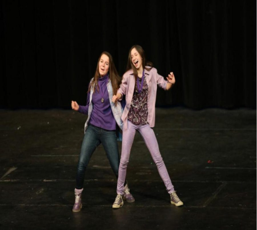 Senior twins Olivia Wiedmann and Sophia Wiedmann competed last year. The lost in the second round at Guess the Song. This year, students will not sit out once they lose a game. Instead, point values will be collected and calculated at the end to determine the winners.