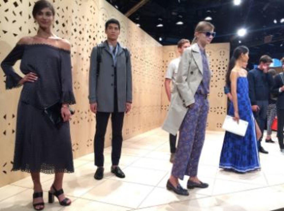 Walking the red carpet to Fashion Club