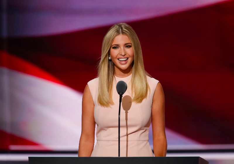 Ivanka Trump fashion line includes items such as clothing, handbags, shoes, and accessories. Her brand has been criticized for copying designs by other designers. Her products are also not produced in the U.S.