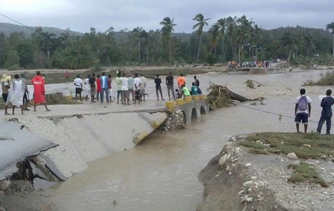 Hurricane Matthew wrecked the country of Haiti. It left behind devastation. French Club is raising money for a nonprofit organization that will help Haiti.