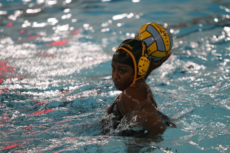 MY+SHOT.++Junior+Sarah+Abraham+takes+a+shot+from+the+five+meter+line.+Abraham+was+a+starting+varsity+player+and+has+been+a+member+of+the+SHS+water+polo+team+since+freshman+year.+%E2%80%9CWe+ended+up+doing+really+well+after+we+were+struggling+at+the+beginning+of+our+season%2C%E2%80%9D+said+Abraham.+