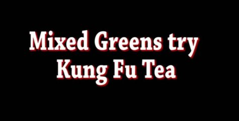 Mixed Greens try bubble tea
