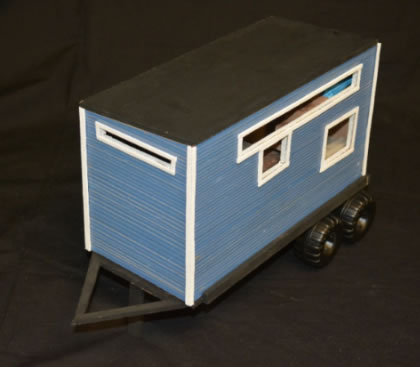 Architecture class constructs big dreams for tiny home