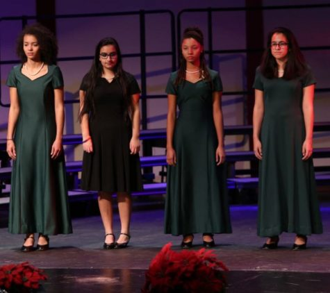 Choirs sing for praises