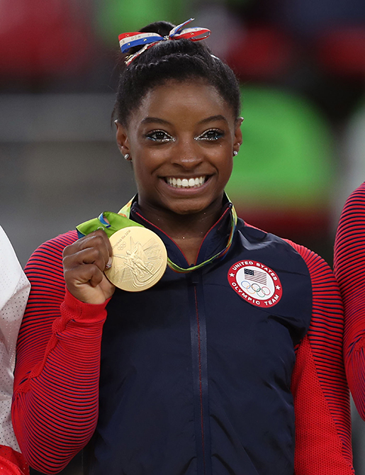 Gold+medalist+Simone+Biles+following+the+Women%27s+Floor+Exercise+final+at+the+Rio+Olympic+Arena+on+the+eleventh+day+of+the+Rio+Olympics+Games+on+Tuesday+August+16%2C+2016+in+Brazil.+%28David+Davies%2FAbaca+Press%2FTNS%29