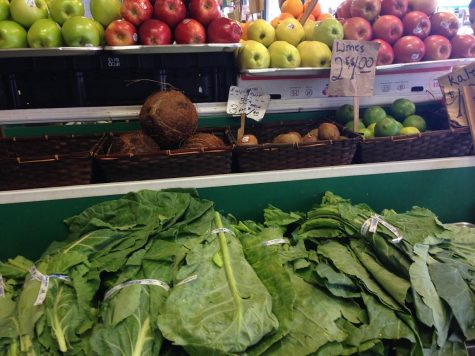 Students go green, eat right