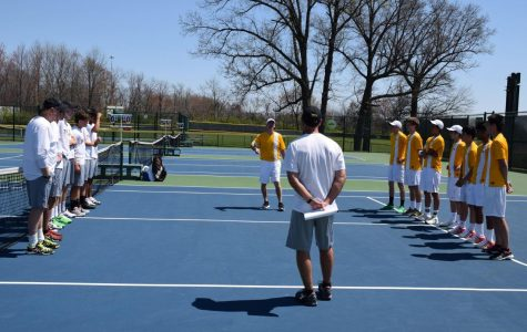 """LETS GO. The SHS boys tennis team has officially begun. The success from last season brings pressure for all three teams this year since they have to prove the last year wasn't a fluke. """"It is going to be challenging this year with tough opponents,"""" said Bolger."""
