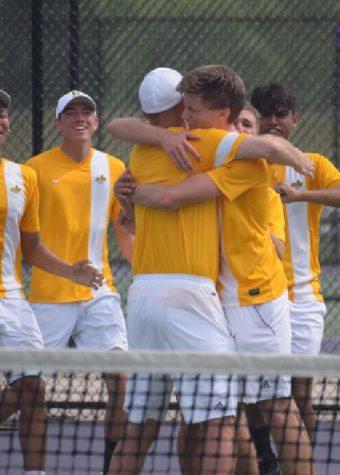 Tennis bounces into action
